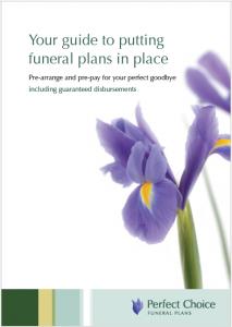 pre paid plans brochure