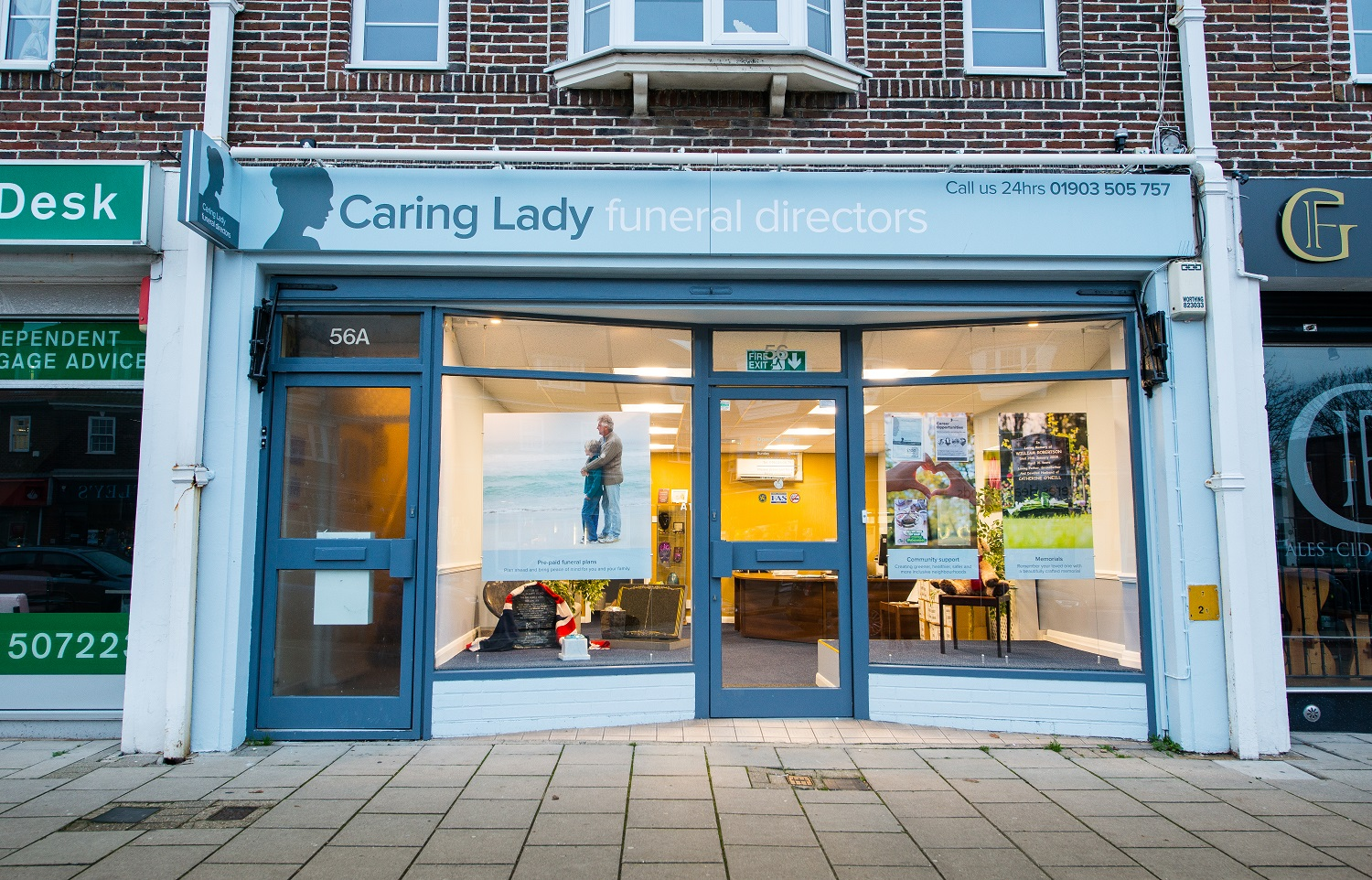 Caring Lady Funeral Directors Goring by Sea
